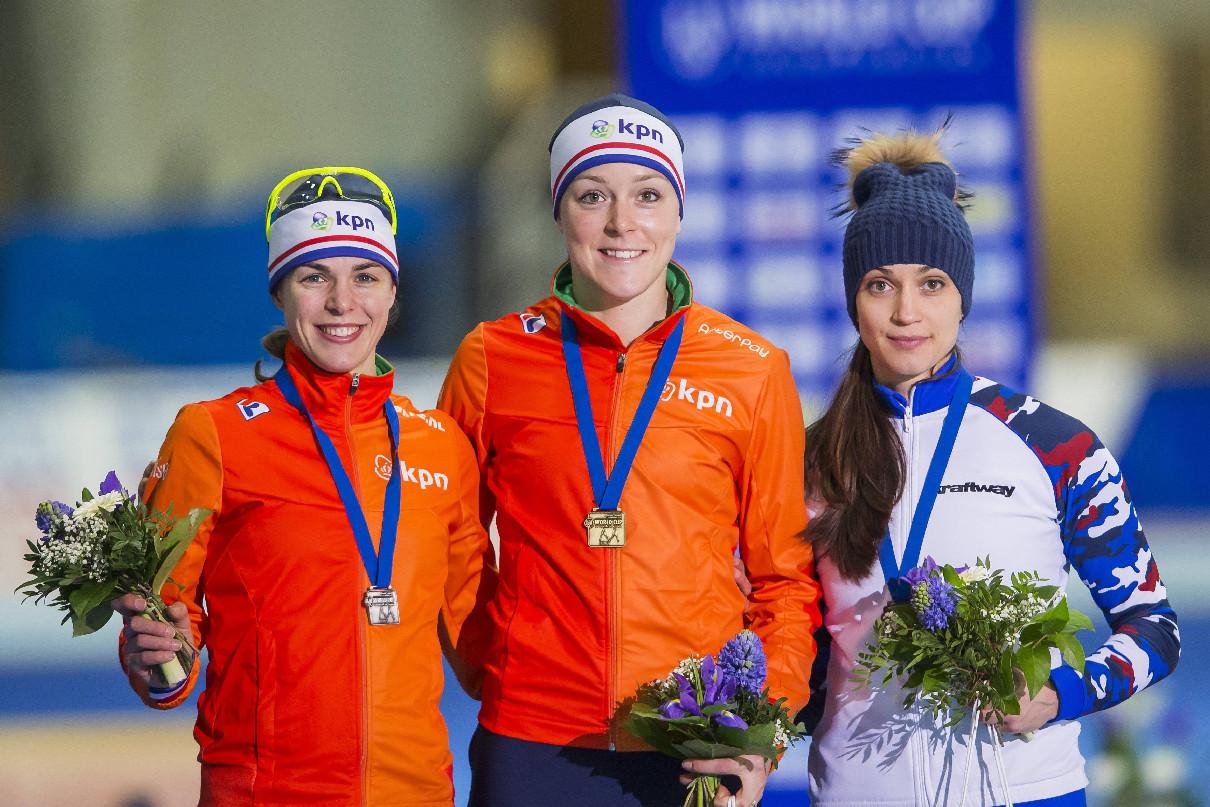 Конькобежный спорт, женщины, 1000 метров