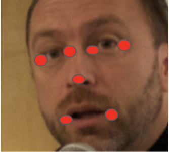 Этап №2. Программа распознает ключевые точки на лице