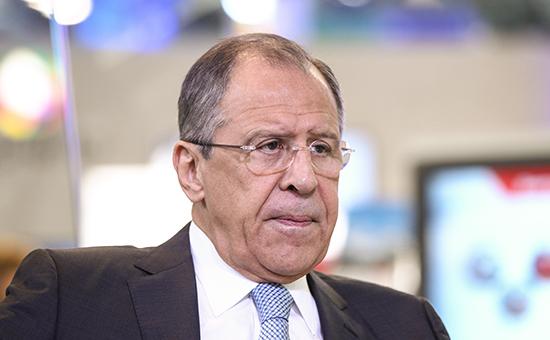 Министр иностранных дел РФСергей Лавров