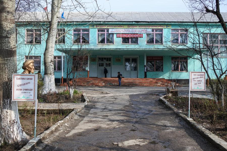 Школа, в которой училсяАкбарджон Джалилов