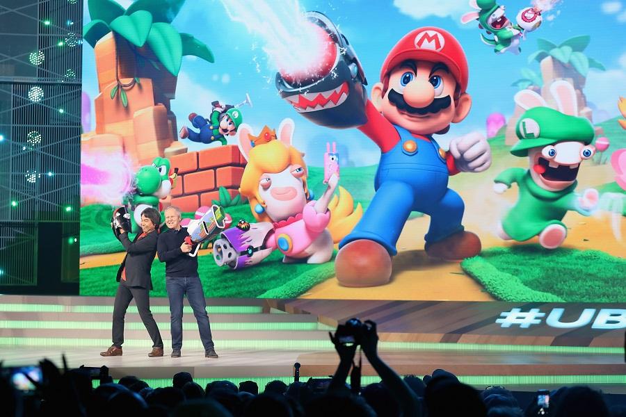 Конференция Ubisoft E3 в 2017 году