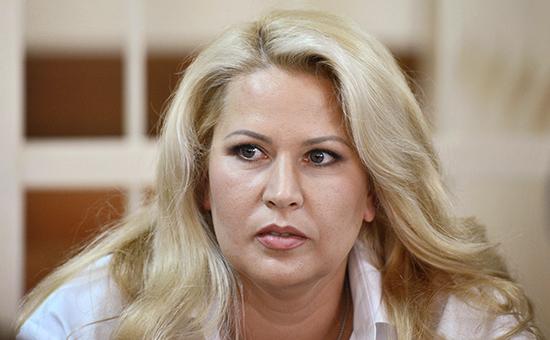 Экс-руководитель департамента имущественных отношений Минобороны Евгения Васильева