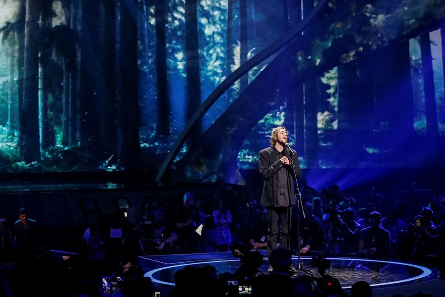 Победитель «Евровидения-2017» Салвадор Собрал (Португалия)