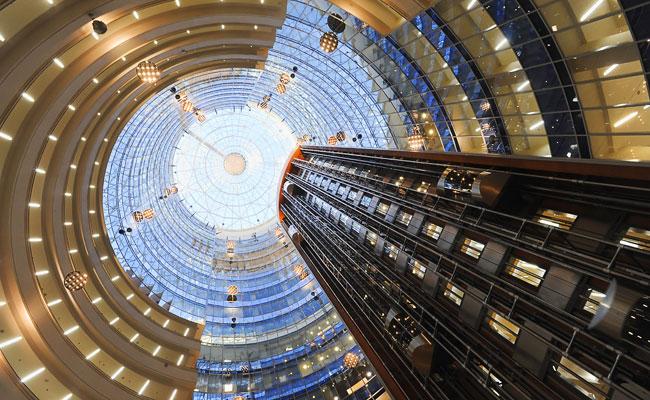 В деловом центре «Северная Башня» в «Москва-Сити»