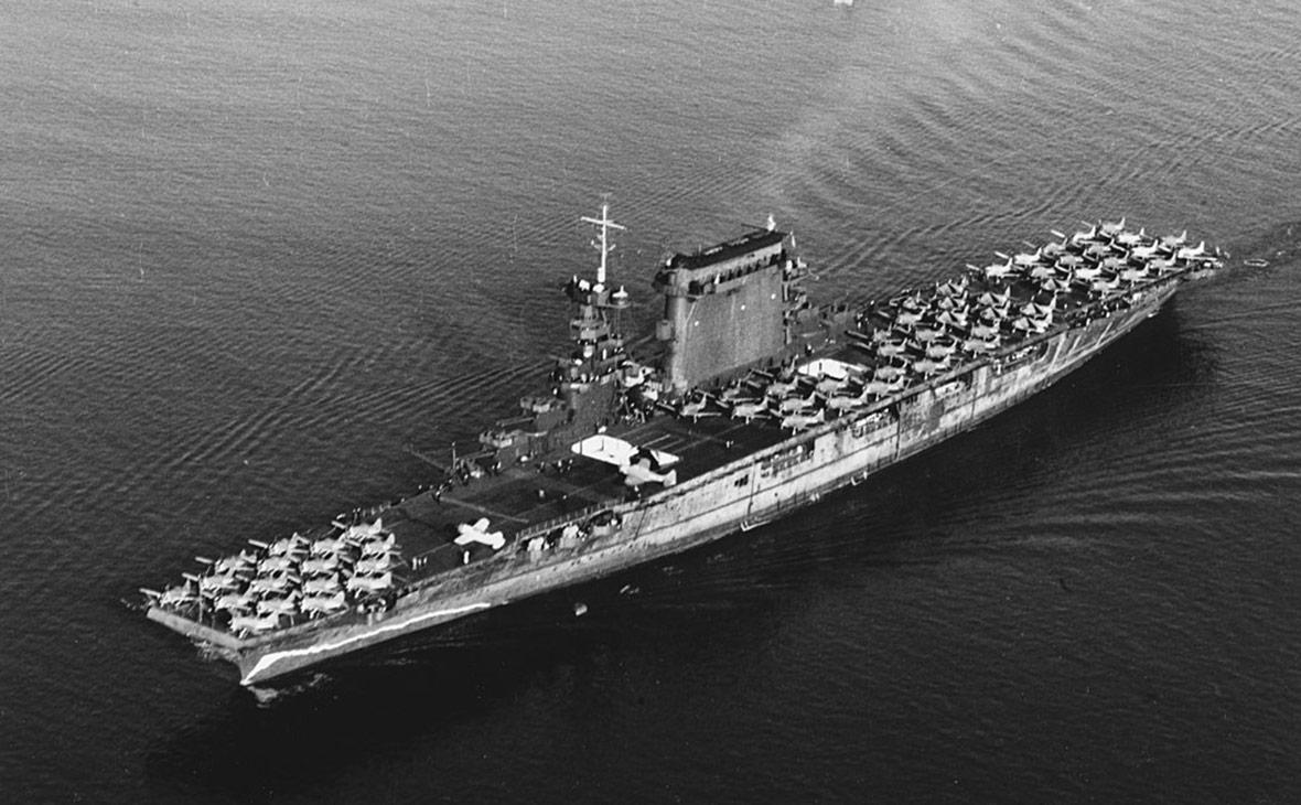 USS Lexington. Октябрь 1941 года