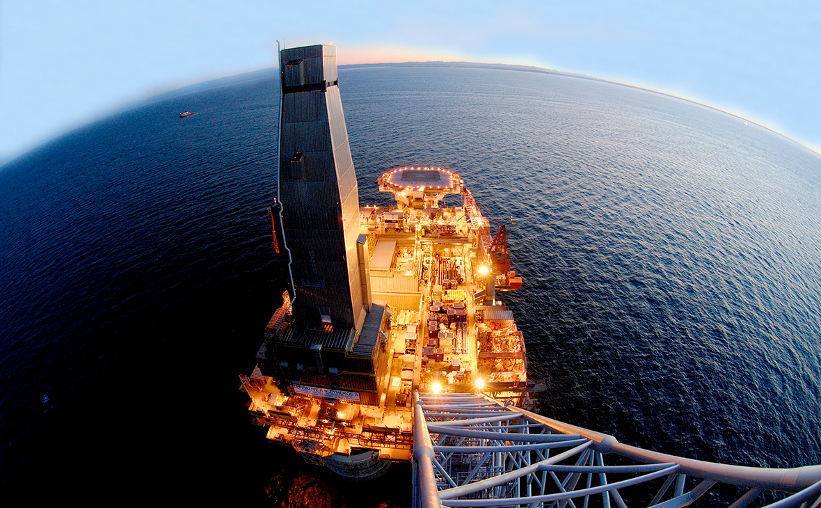 Платформа «Лунская-А» проекта «Сахалин-2»