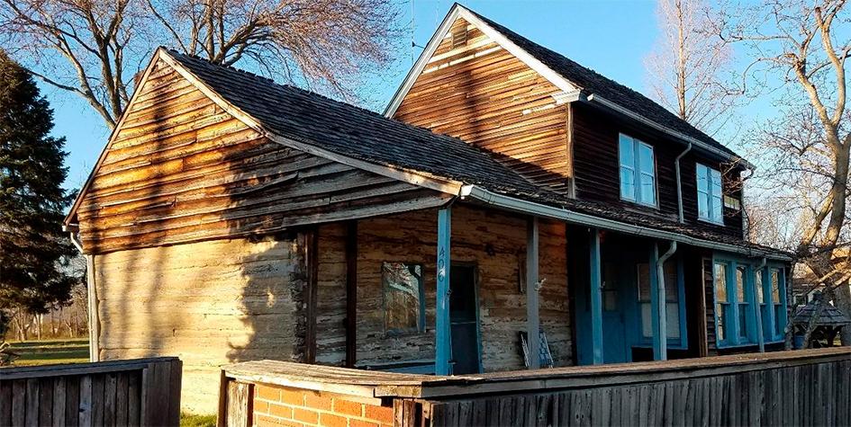 C.A. Nothnagle Log Home