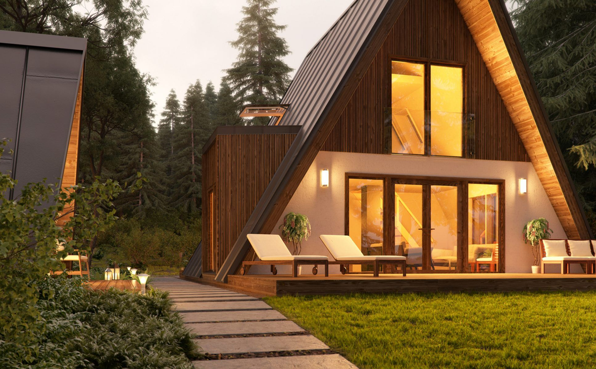 По концепции проекта все дома в туркомплексе будут разными.