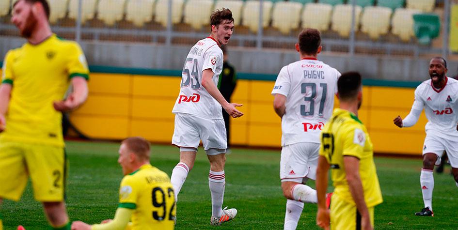 «Локомотив» продлил беспроигрышную серию в чемпионате России