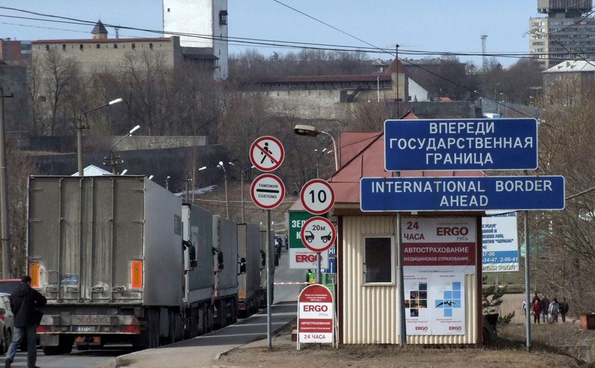Государственная граница с Эстонией