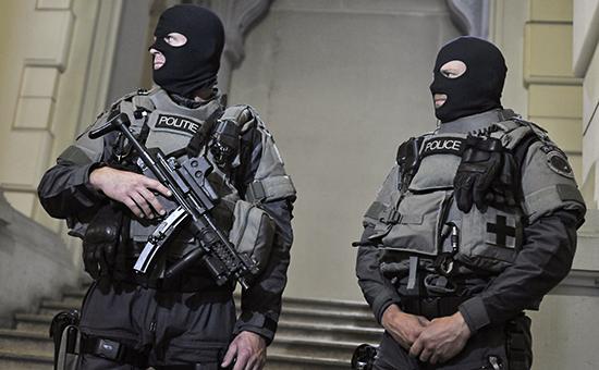 Бельгийские полицейские, архивное фото