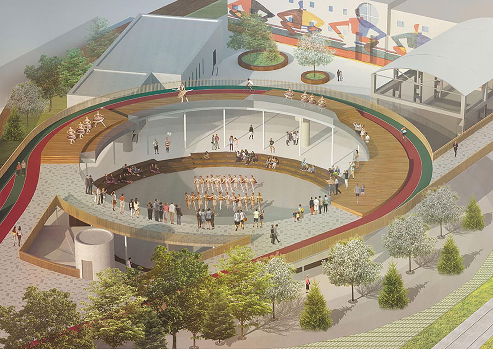 В депо монорельса появятся театральная площадка и музей транспорта. В музее можно будет посмотреть на уникальные составы монорельса и узнатьего историю