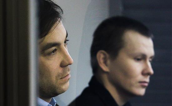 Россияне Евгений Ерофеев и Александр Александров (слева направо)