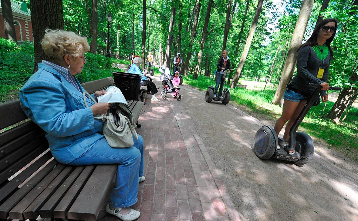 Катание на сегвеях в парке «Царицыно»