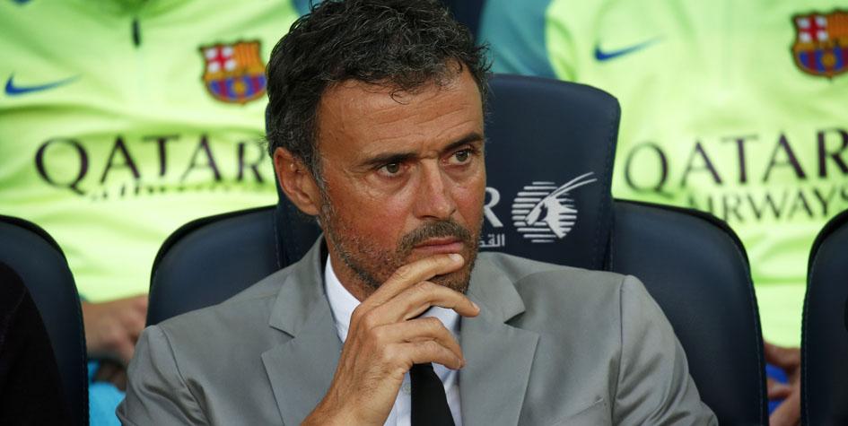 Бывший главный тренер «Барселоны» Луис Энрике