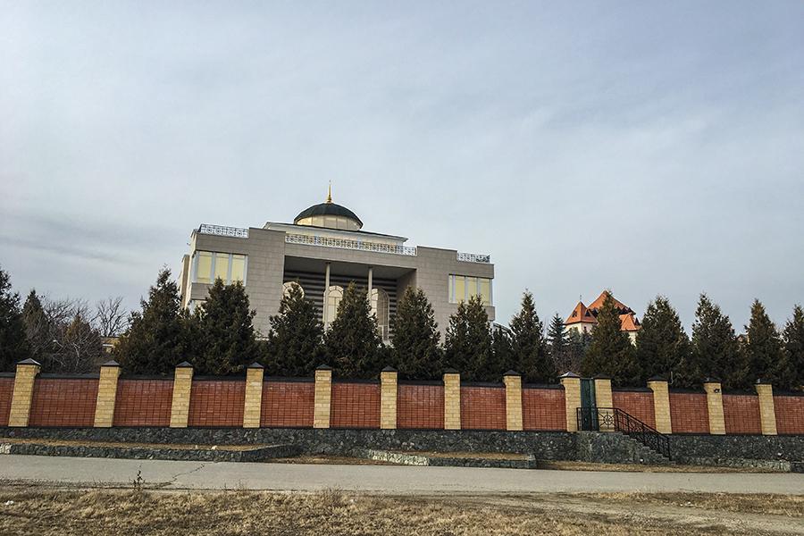 Дом Назира Хапсирокова в Хабезе