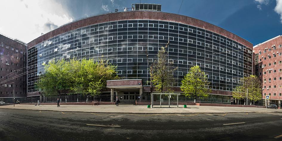 Здание Центросоюза в Москве