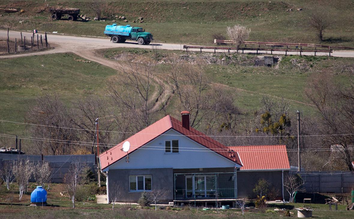 Подвоз воды в село, где отсутствует централизованное водоснабжение, Крым