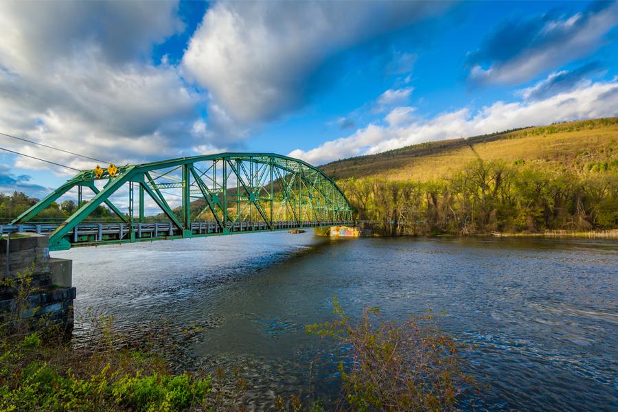 Мост через реку Коннектикут в Братлборо