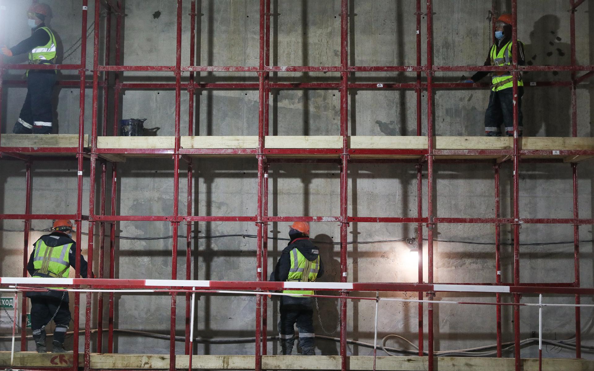 Строительство метро в Москве