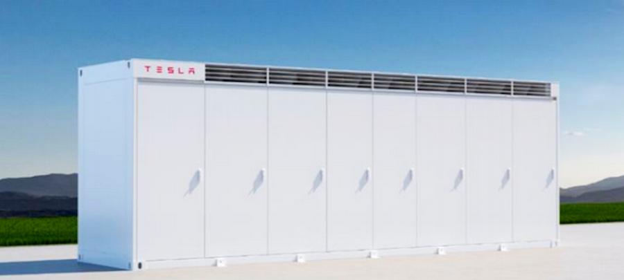 Батареи Tesla в Техасе