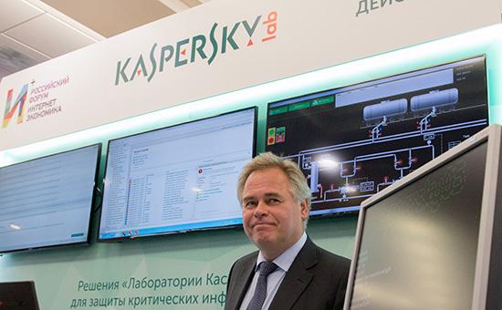 Глава «Лаборатории Касперского» Евгений Касперский, 2015 год  