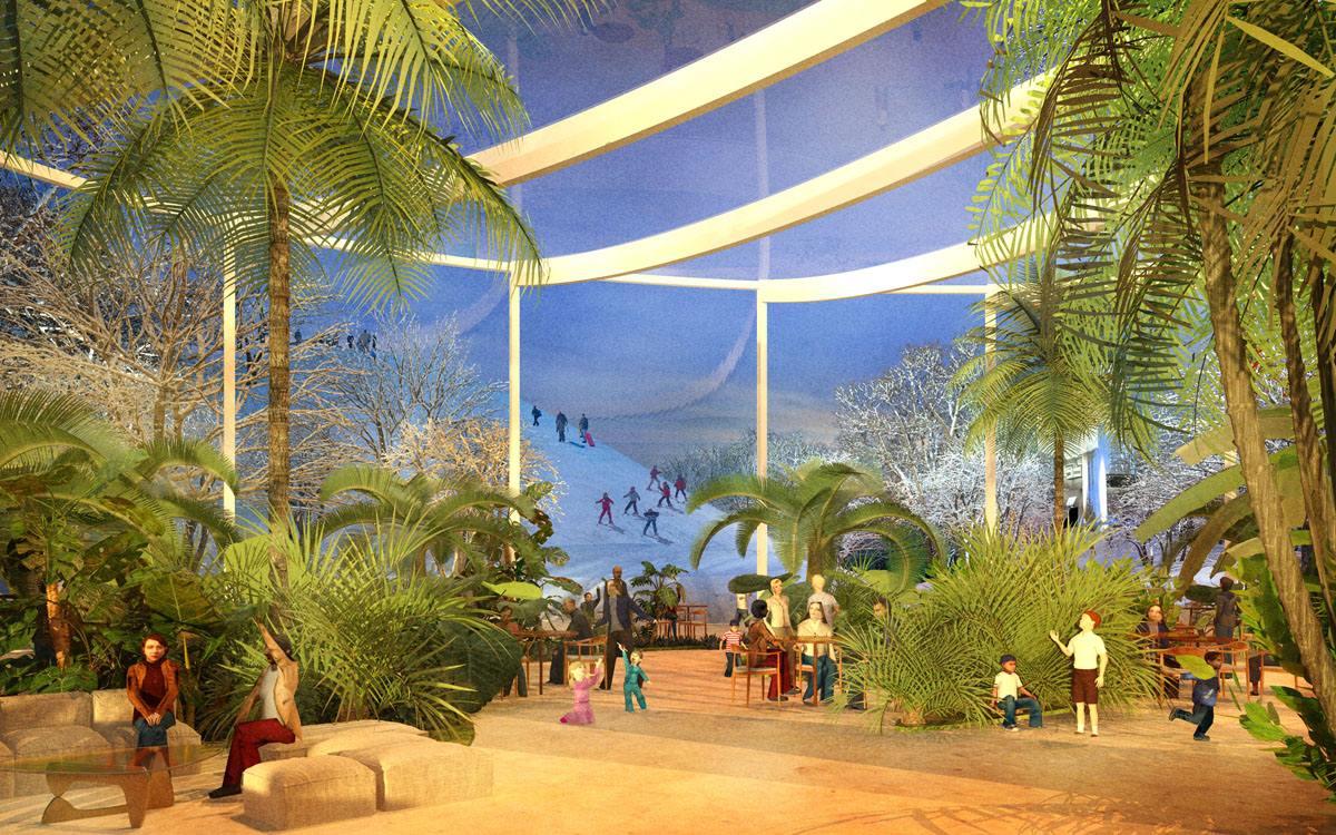 На аллее Фестивалей и Ярмарок установят информационные и торговые павильоны, кафе и места для отдыха. Здесь будет начинаться прогулочный маршрут