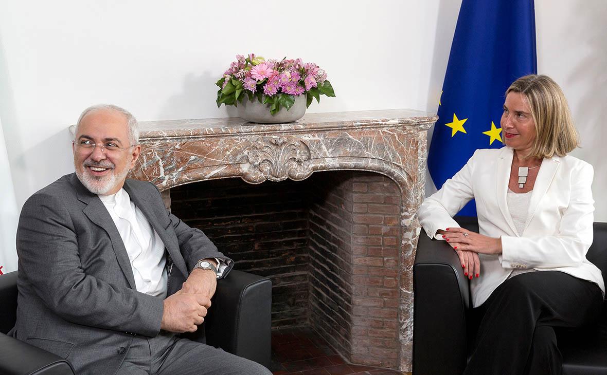 Джавад Зариф и Федерика Могерини