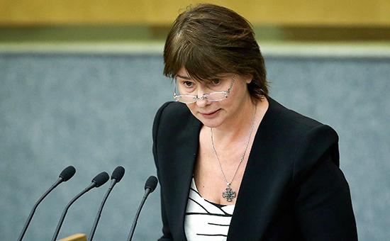 Председатель комитета ГД РФ по финансовому рынку Наталья Бурыкина