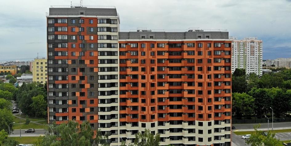 Дом по программе реновациина улице Летчика Бабушкина