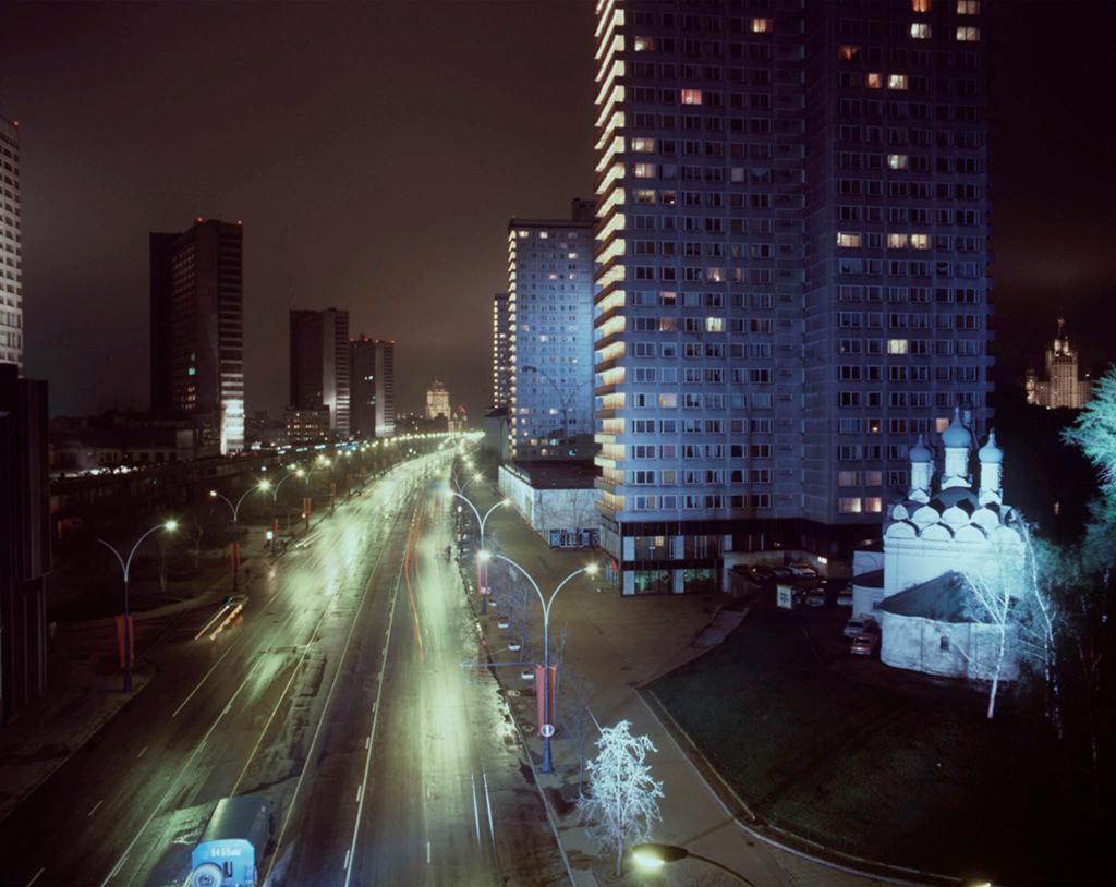 Проспект Калинина, 1988 год