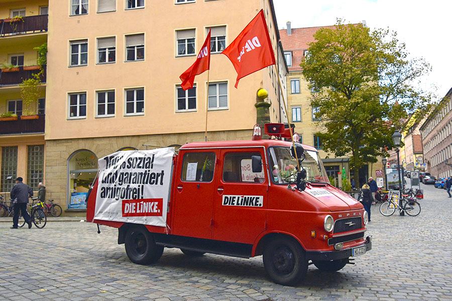 Агитацияпартии «Левые»