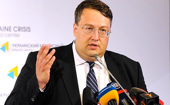 Советник главы МВД Украины Антон Геращенко