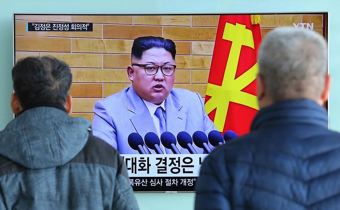 Лидер Северной КореиКим Чен Ын