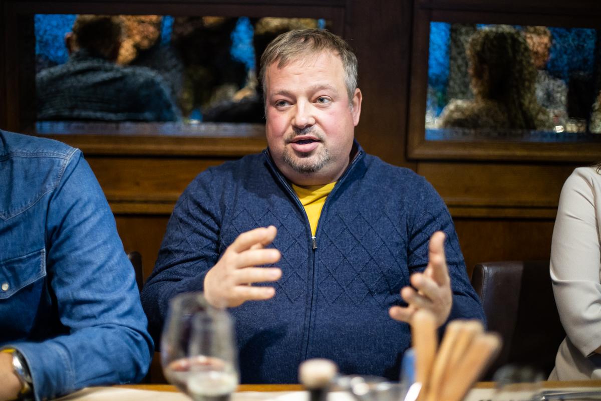 Фото:Генеральный директор ООО «Британика» Максим Здрадовский