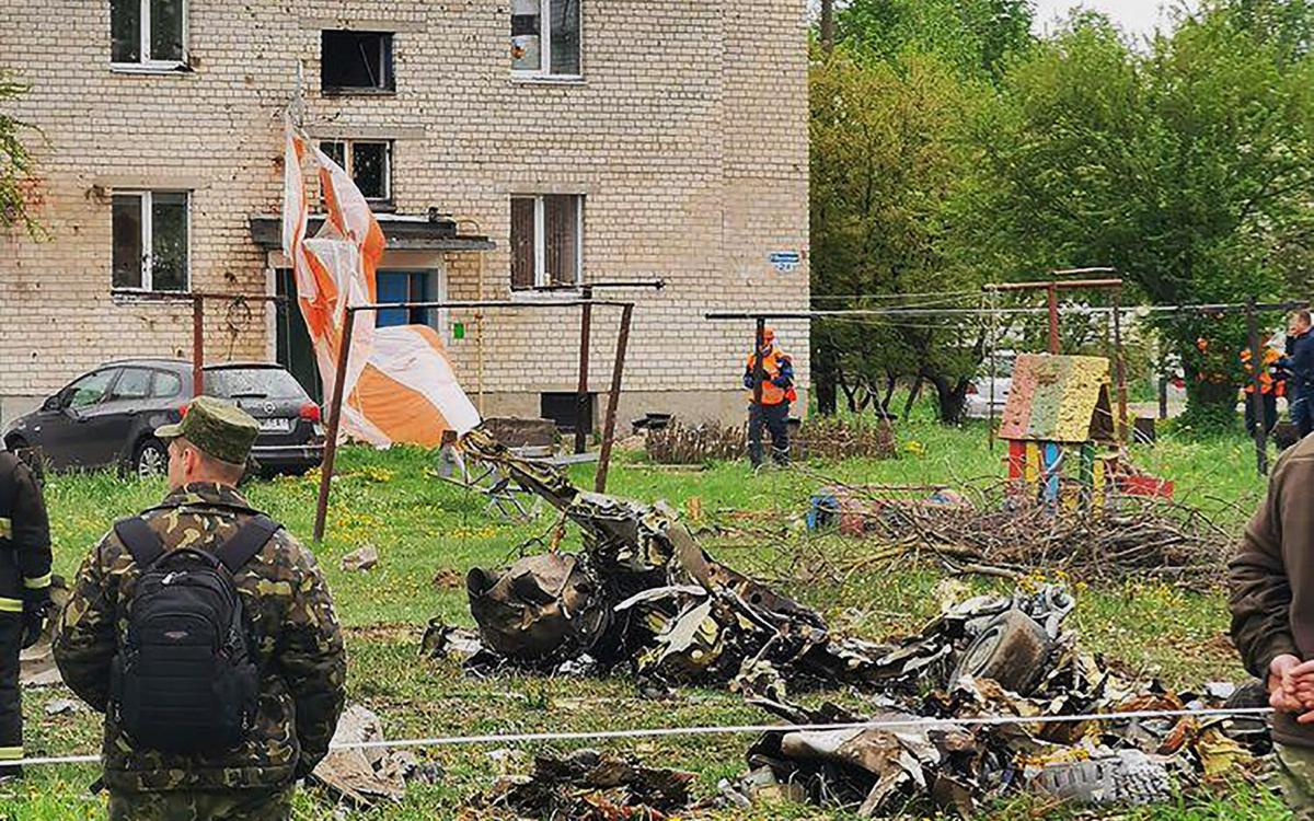 СК Белоруссии возбудил дело после крушения Як-130