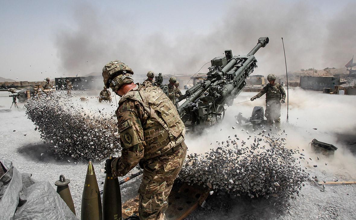 Солдаты армии США вАфганистане
