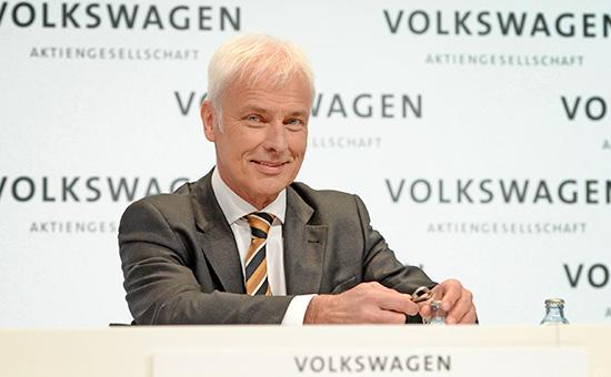 Новый директор Volkswagen Маттиас Мюллер