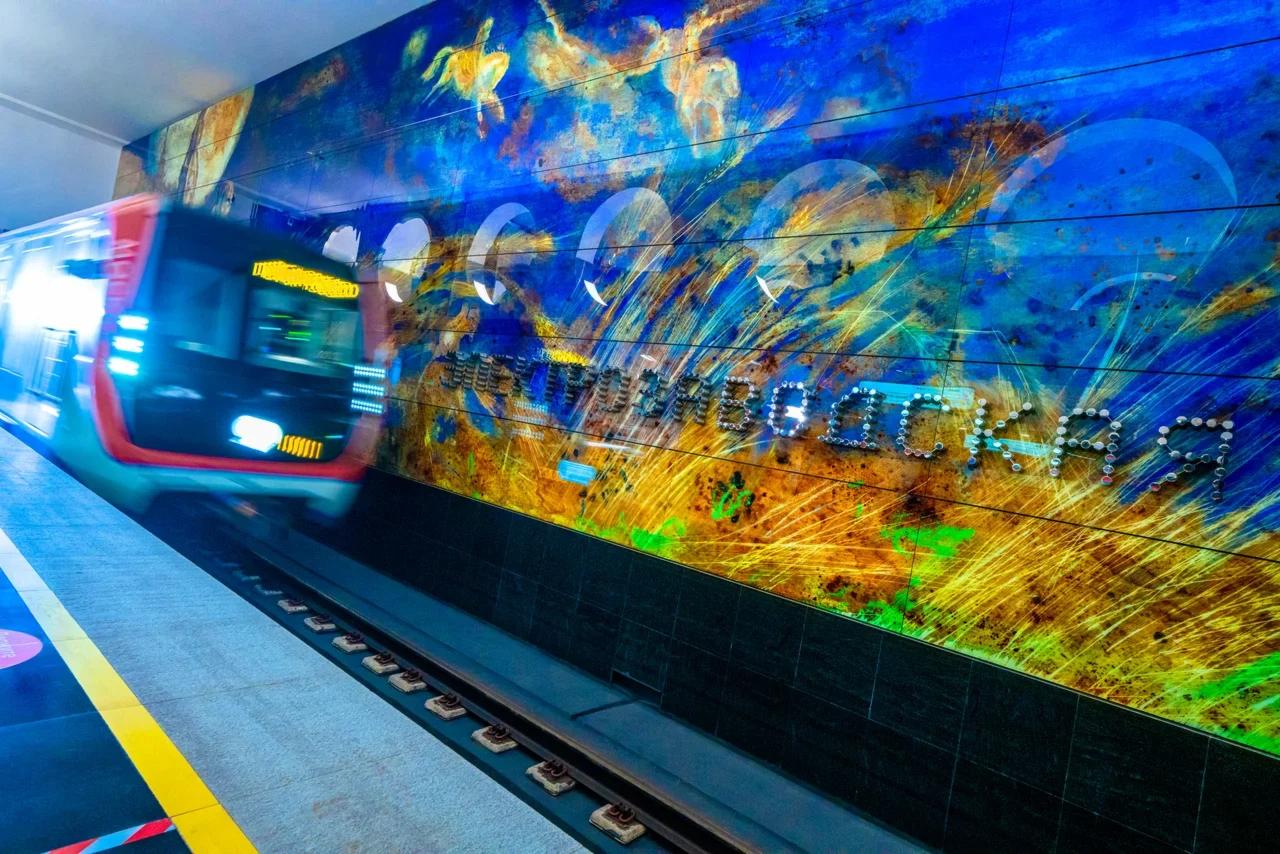Станция метро «Электрозаводская» Большой кольцевой линии метро, открыта 31 декабря 2020 года