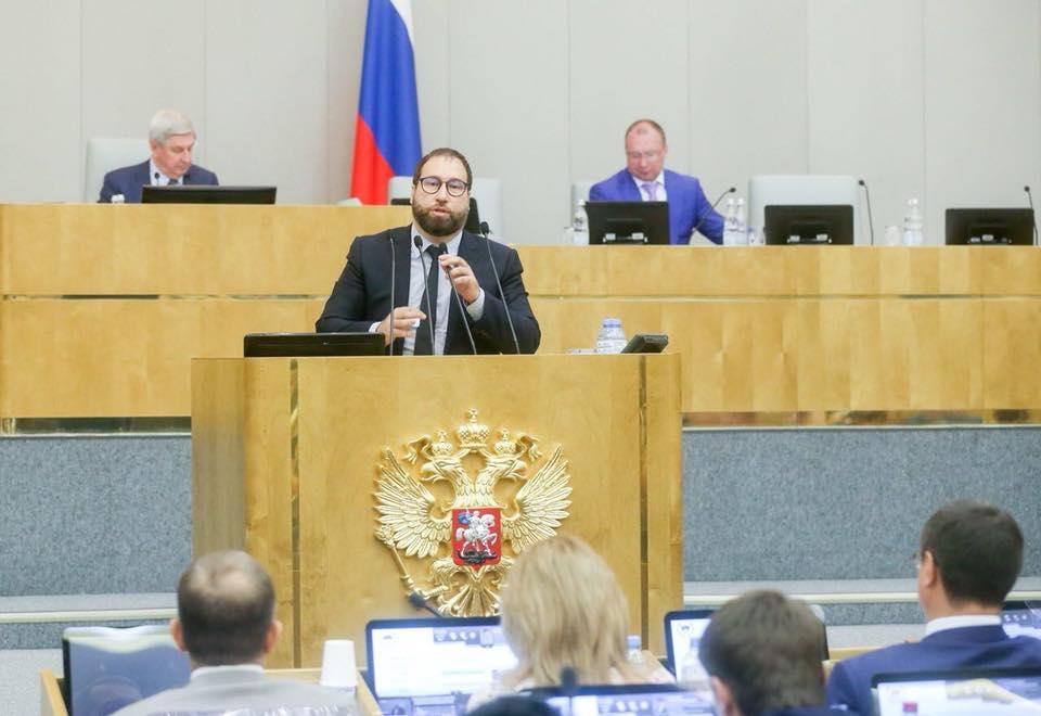 Депутат Госдумы от «Единой России» Антон Горелкин