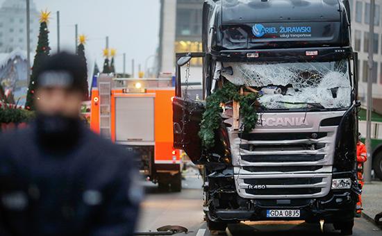 На месте происшествия в центре Берлина