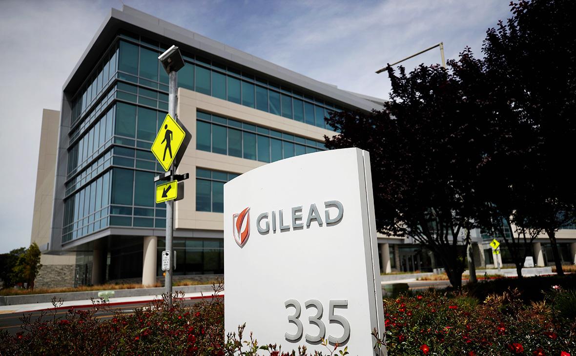 Штаб-квартира Gilead Sciences в Калифорнии