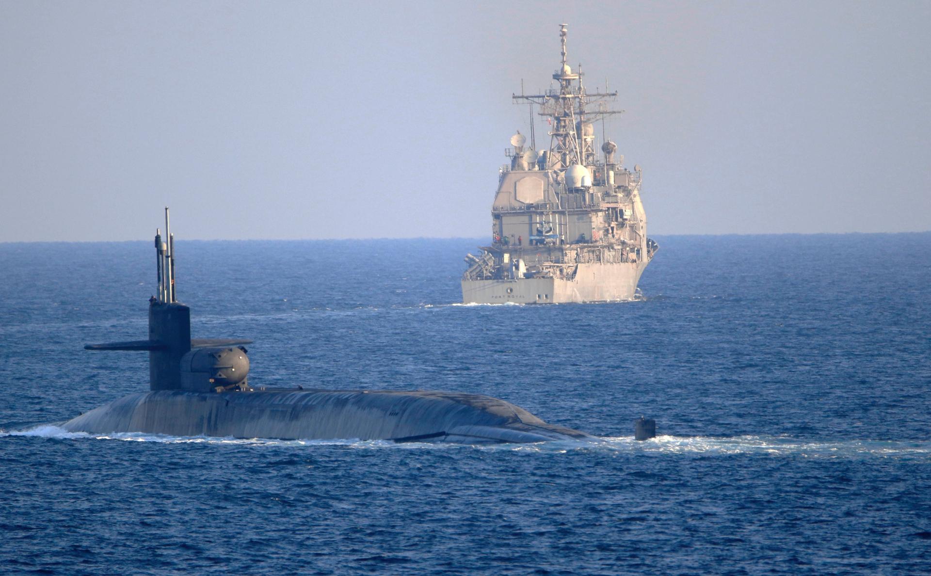 Фото:Indra Beaufort / U.S. Naval Forces Central Command / U.S. 5th Flee / AP