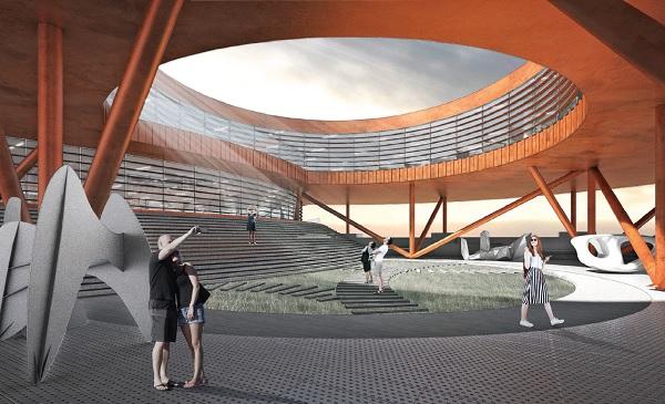 Проект общественно-делового кампуса на территории «Севкабель Порта»