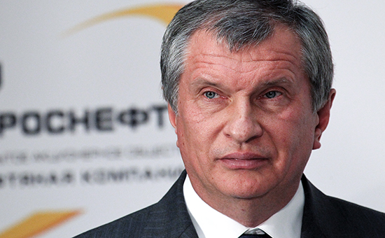 Президент государственной нефтяной компании «Роснефть» Игорь Сечин