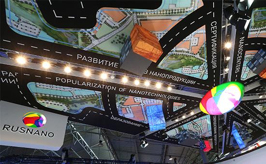 Стенд ОАО «Роснано» на Петербургском международном экономическом форуме 2015
