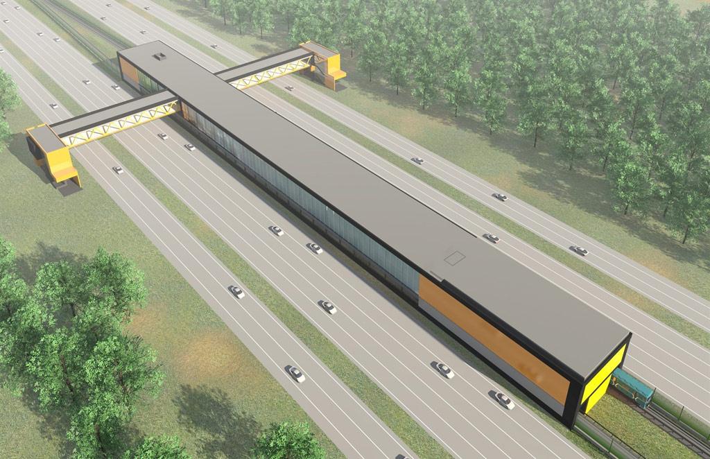 Проект станции метро «Филатов луг»