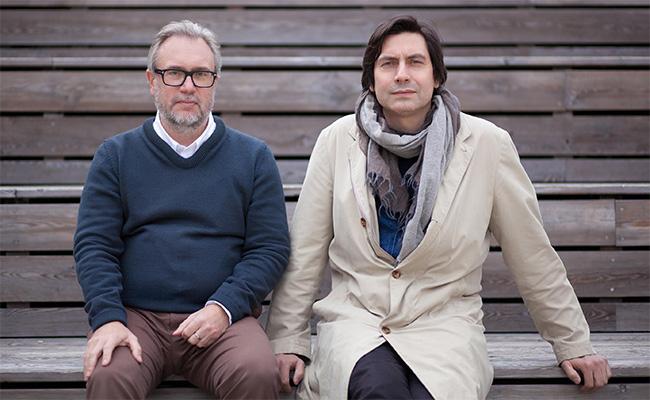 Партнеры архитектурного бюро Wowhaus Олег Шапиро и Дмитрий Ликин