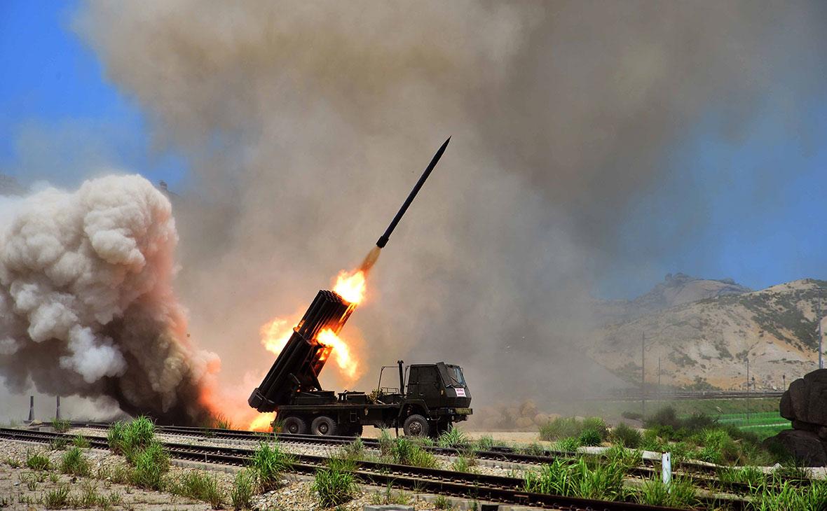 Учения северокорейской армии. 2014 год