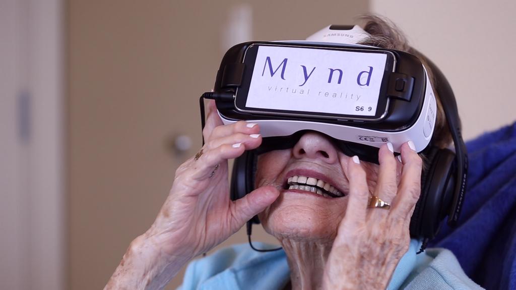 VR-шлем Vive Focus от MyndVR